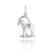 Pendentif Signe du Zodiaque Capricorne en Argent