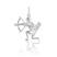 Pendentif Signe du Zodiaque Sagittaire en Argent
