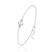 [Moonlight] Bracelet en Argent et Perle de Cristal 8MM