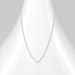 Collier V Design en Argent
