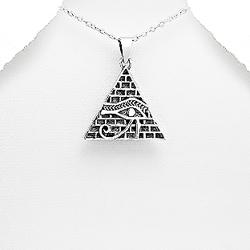 Pendentif en Argent Oeil de Horus
