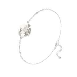Bracelet Cosmic en Argent et Cristal Silver Shade