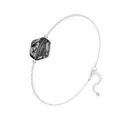 Bracelet Cosmic en Argent et Cristal Silver Night