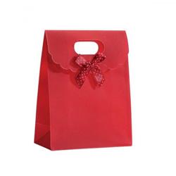 Pochette Cadeau pour Bijoux - Rouge