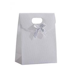 Pochette Cadeau pour Bijoux - Blanc