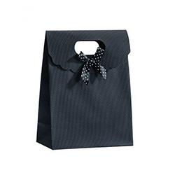 Pochette Cadeau pour Bijoux - Noir