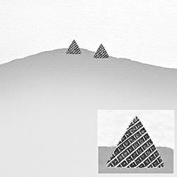 Clous d'Oreilles Triangle en Argent