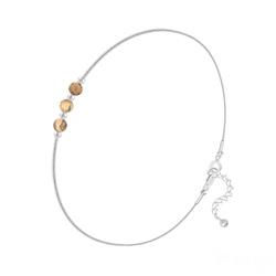 Bracelet en Argent et 3 Pierres Naturelles 4MM - Jaspe Paysage