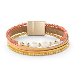Bracelet Fashion Aimanté Perle d'eau douce