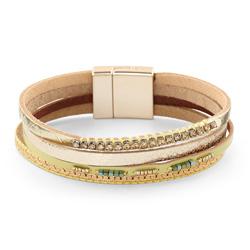 Bracelet Fashion Doré Aimanté