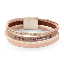 Bracelet Fashion Saumon Aimanté