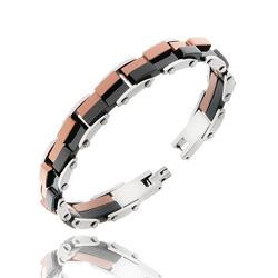 Bracelet Homme en Acier 3 couleurs