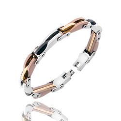 Bracelet Homme en Acier 4 couleurs