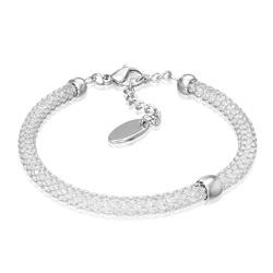 Bracelet en Acier Mixte 5mm / 19 cm