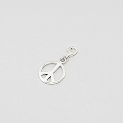 Charms Peace and Love en Argent