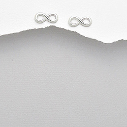 Boucles d'Oreilles en Argent Symbole Infini