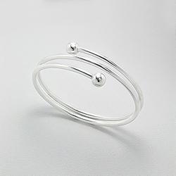 Bracelet Design Rigide en Argent